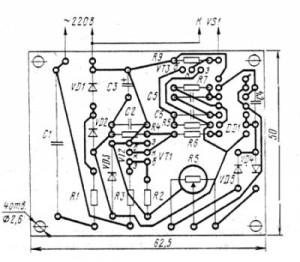 Симисторный регулятор мощности2