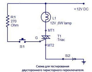 circuit-for-testing-triac