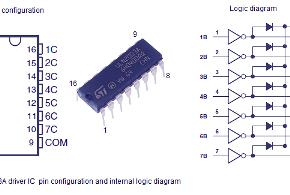 uln2003-pin-configuration
