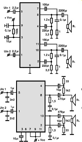 усилитель на микросхеме DBL1032