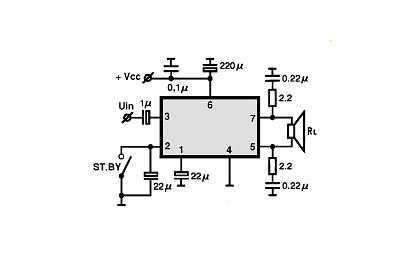 Усилитель на TDA7240A: http://radioschema.ru/el-komponenty/audio-usiliteli/usilitel-na-tda7240a.html