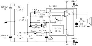 60W аудио усилитель на основе TDA2052