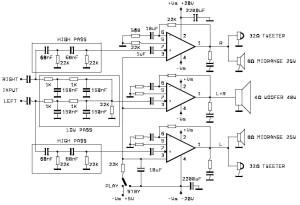 60W аудио усилитель на основе TDA2052_2
