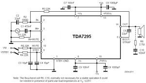80W аудио усилитель на основе TDA7295_1