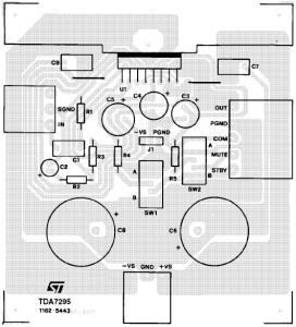 80W аудио усилитель на основе TDA7295_2