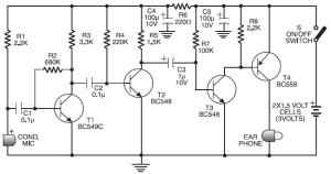 Схема слухового аппарата 2