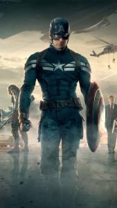 Скачать обои для iPhone - Капитан Америка