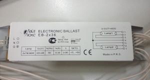 Электронный балласт для ламп EB-2×36. Ремонт EB-2×36 Узнать больше здесь: http://radioschema.ru/sxemy-elektricheskie/elektronnyiy-balast-dlya-lamp-eb-2x36-remont-eb-2x36.html