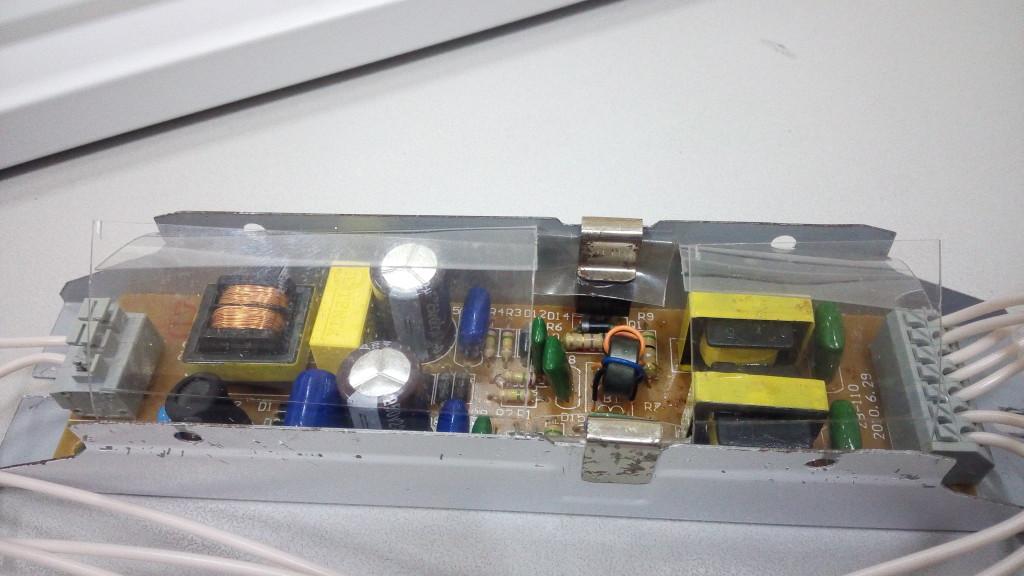 Электронный балласт для ламп EB-2x36. Ремонт EB-2x36 рис1