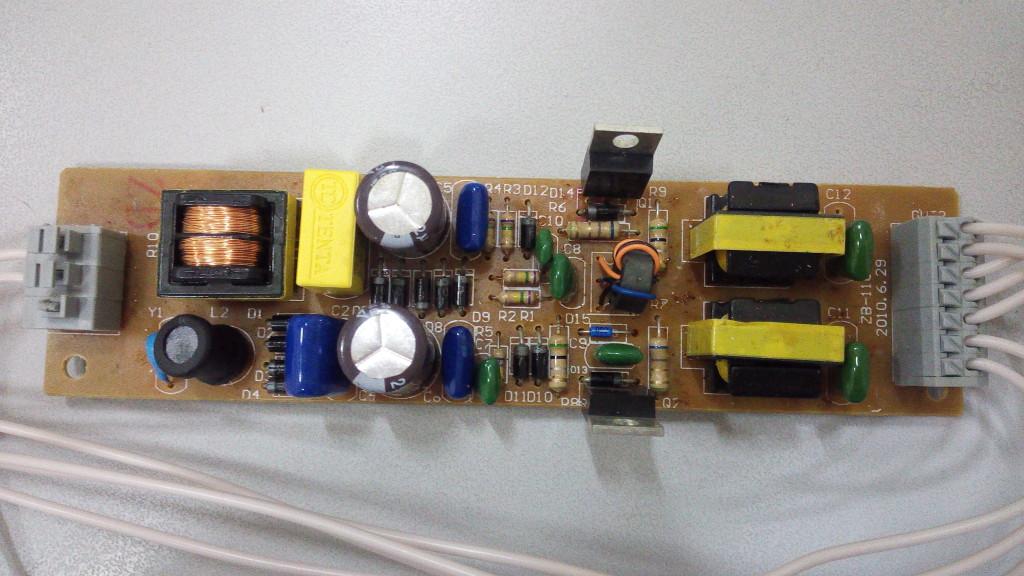 Электронный балласт для ламп EB-2x36. Ремонт EB-2x36 рис2