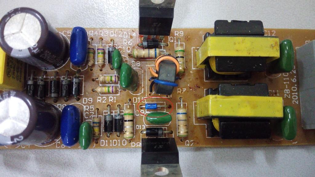 Электронный балласт для ламп EB-2x36. Ремонт EB-2x36 рис4