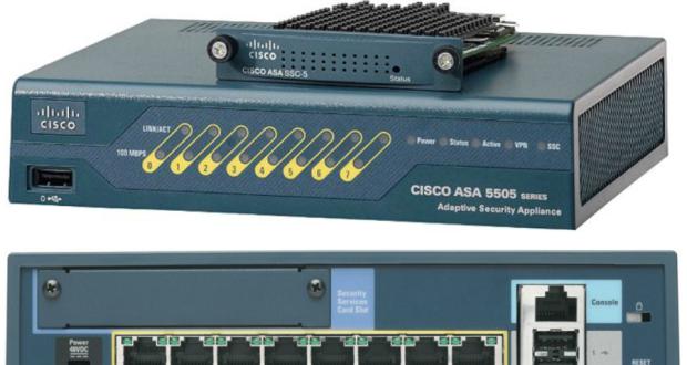 Многофункциональное устройство обеспечения безопасности Cisco ASA 5505