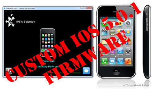 Пошаговое руководство: отвязанный джейлбрейк и анлок iPhone 3GS с помощью Sn0wBreeze 2.9.1 (Windows) [iOS 5.0.1]