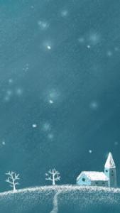 Скачать обои для iPhone - Зима