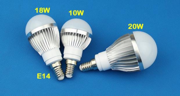 E14 лампы