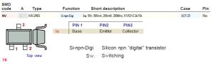 smd code (NV) - KRC246S- SOT-23