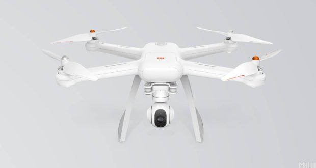 Xiaomi дрон беспилотник 4К видео