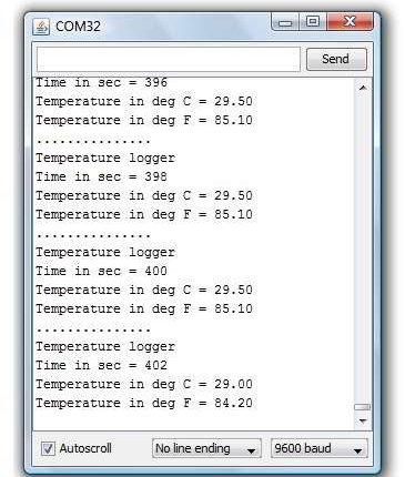 Температура с arduino 2